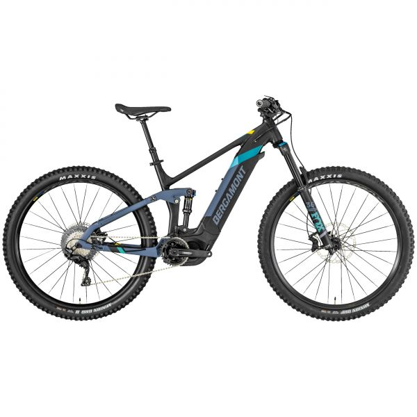 Bergamont E-Trailster Expert 29 blue grey/black/yellow (matt)