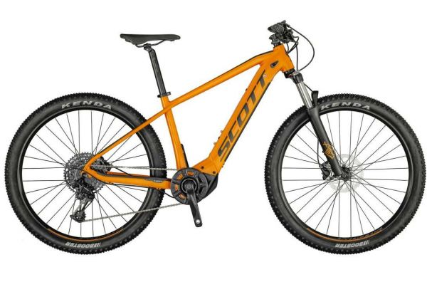 Scott Aspect eRIDE 920 tangerine orange / dark green 2021